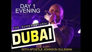 Download PAPA & MAMA STORMS DUBAI, UAE - Day 1 Evening - With Apostle Johnson Suleman Video