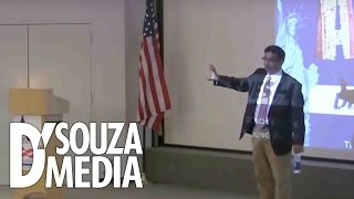 Download D'Souza absolutely DESTROYS leftist college student Video