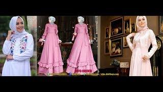 Download Inspirasi Model Baju Muslim Untuk Hari Raya Idul Fitri 2018 Video