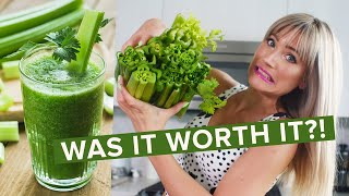 Download I tried drinking CELERY JUICE for 10 days and THIS is what happened... Video