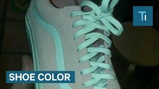Download People On Twitter Can't Tell If These Sneakers Are Pink Or Gray Video