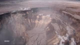 Download Kīlauea Volcano — UAS Survey of Halema'uma'u Crater Rim Video