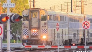 Download AMTRAK, BNSF & METROLINK TRAINS in SANTA FE SPRINGS, CA (12/13/14) Video