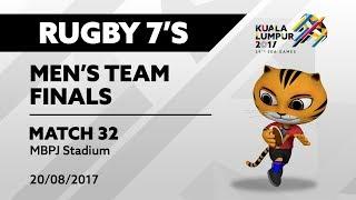 Download KL2017 29th SEA Games | Men's Rugby 7's FINALS - MAS 🇲🇾 vs SGP 🇸🇬 | 20/08 Video