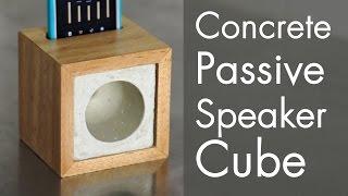 Download Concrete Passive Speaker Cube Video