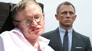 Download Stephen Hawking Wants To Play Bond Villain Video