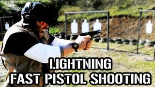 Download EXTREMELY FAST PISTOL SHOOTING DRILLS (Do Not Try This At Home) Video