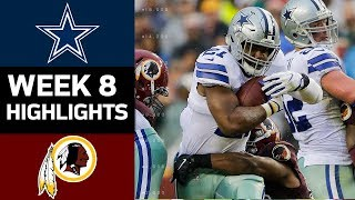 Download Cowboys vs. Redskins | NFL Week 8 Game Highlights Video