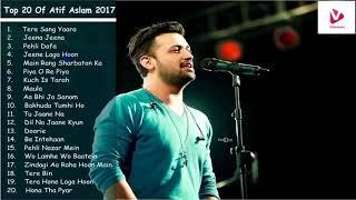 Download Best of Atif Aslam | Top 20 Songs | Jukebox 2018 Video