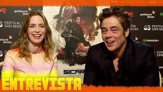 Download SICARIO Entrevista ″Emily Blunt y Benicio Del Toro″ Subtitulado Video