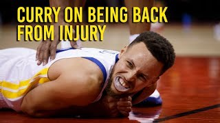 Download Curry says he's sore but good enough to play after injury Video