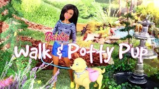 Download Unbox Daily: Barbie Walk & Potty Pup - Doll Review - 4K Video