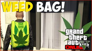 Download GTA 5 Online: RARE ″Weed Bag″ Clothing Item! Secret WEED Parachute Bag Online! ″GTA 5 Glitches″ Video