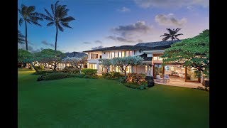 Download Incomparable Beachfront Compound in Kailua, Hawaii | Sotheby's International Realty Video