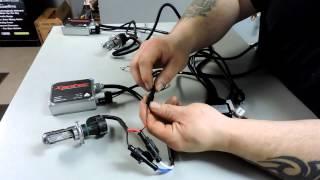 Download Xentec 55 Watt Bi-Xenon HID Installation and Review 5000K Video
