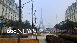 Download China Builds Fake Paris, London and Jackson Hole | An Inside Look Video