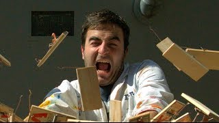 Download Mousetrap Chain Reaction in Slow Motion - The Slow Mo Guys Video