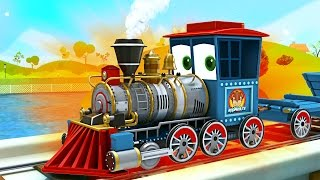 Download appMink build a Steam Train - steam locomotive toy movies for children Video