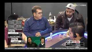 Download Live at the Bike $5/$5/$10 NLHE - ″Wayne Chiang and Dan Zack Commentate.″ Video