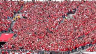 Download WISCONSIN JUMP AROUND in student section at Camp Randall, Madison Video