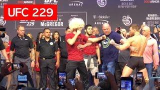 Download STAREDOWN!! CONOR MCGREGOR AND KHABIB NURMAGOMEDOV UFC 229 Video