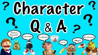 Download CHARACTER Q&A!!! (Jeffy, Goodman, Shrek, Black Yoshi, Jackie Chu) Video