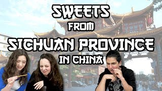 Download German Teens try Sweets from Sichuan Province in China Video