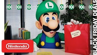 Download Nintendo Black Friday Announcement Video