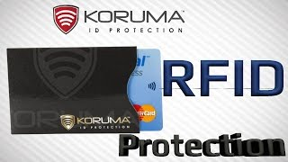Download RFID Credit Card Protection against THIEFS! Video