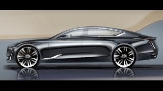 Download Car Design Sketch & Drawing - Cadillac Escala Concept Video