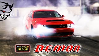 Download ONE SEAT DEMON! 9.80'S! STOCK OTHER THAN TIRES! CALI CAR TESTS ILLINOIS TRACKS! RT66 JOLIET! BYRON! Video