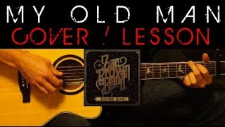 Download MY OLD MAN - Zac Brown Band Easy Acoustic Guitar Tutorial Lesson Cover + Tabs/Chords/Lyrics Video