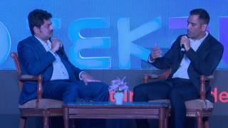 Download Discussion with M.S. Dhoni Video