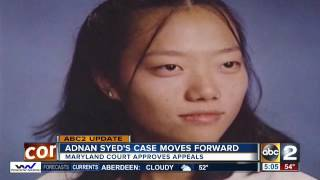 Download Court to allow Adnan Syed appeals to proceed, attorney says Video