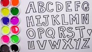 Download Dibujando y Coloreando el Alfabeto - Dibujos Para Niños - Aprende Colores / Funkeep Video