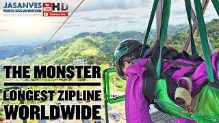 "Download Longest Zipline in the World by Guinness Record, ""El Monstruo"" (The Monster) Toro Verde Adventure Video"