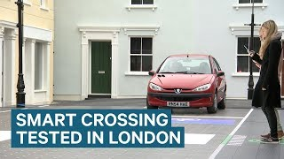 Download Smart LED Road Crossing Unveiled In London Video