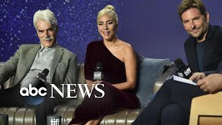 Download Lady Gaga says she had 'instant chemistry' with Bradley Cooper Video