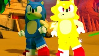 Download LEGO Dimensions - All Super Speed Races (Sonic & Super Sonic Gameplay) Video