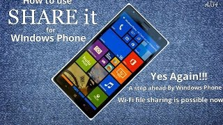 Download How Use Share It For Windows Phone (New Version 1.4) Video