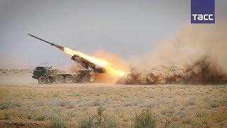 Download Поднятые по тревоге российские военные уничтожили ″Ураганами″ ″бандгруппу″ в Таджикистане Video