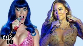 Download Top 10 Celebrities Caught Lip Syncing Video