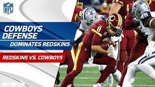 Download Dallas Dominates Washington w/ 4 Sacks & 4 Forced Turnovers | Redskins vs. Cowboys | Wk 13 Player HL Video