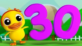 Download Numbers Song 1 to 30 | 3D Rhymes | Learning Number For Kids by Farmees S01E21 Video
