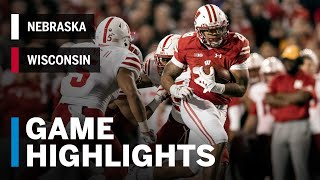 Download Highlights: Nebraska Cornhuskers vs. Wisconsin Badgers | Big Ten Football Video