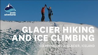 Download Blue Ice. Glacier Hiking and Climbing in Iceland Video
