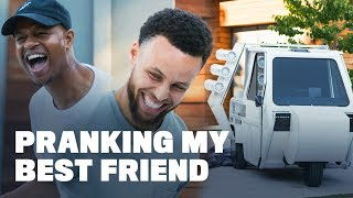 Download Stephen Curry Pranks His Best Friend with the Ugliest Car Ever Video