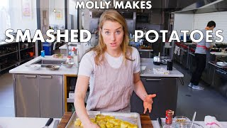 Download Molly Makes Crispy Smashed Potatoes | From the Test Kitchen | Bon Appétit Video