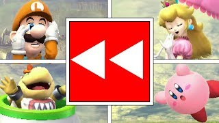 Download Every Character ″Leaving″ Smash Bros Wii U Stage To Go To Smash Bros Ultimate! Video