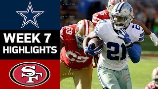 Download Cowboys vs. 49ers | NFL Week 7 Game Highlights Video